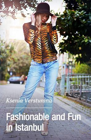 Outstanding Outfit Blogger - Ksenia Verstunina