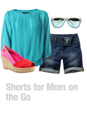 Ensemble: Shorts for Mom on the Go