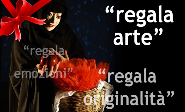 A NATALE REGALA ARTE, EMOZIONI ed ORIGINALITA'