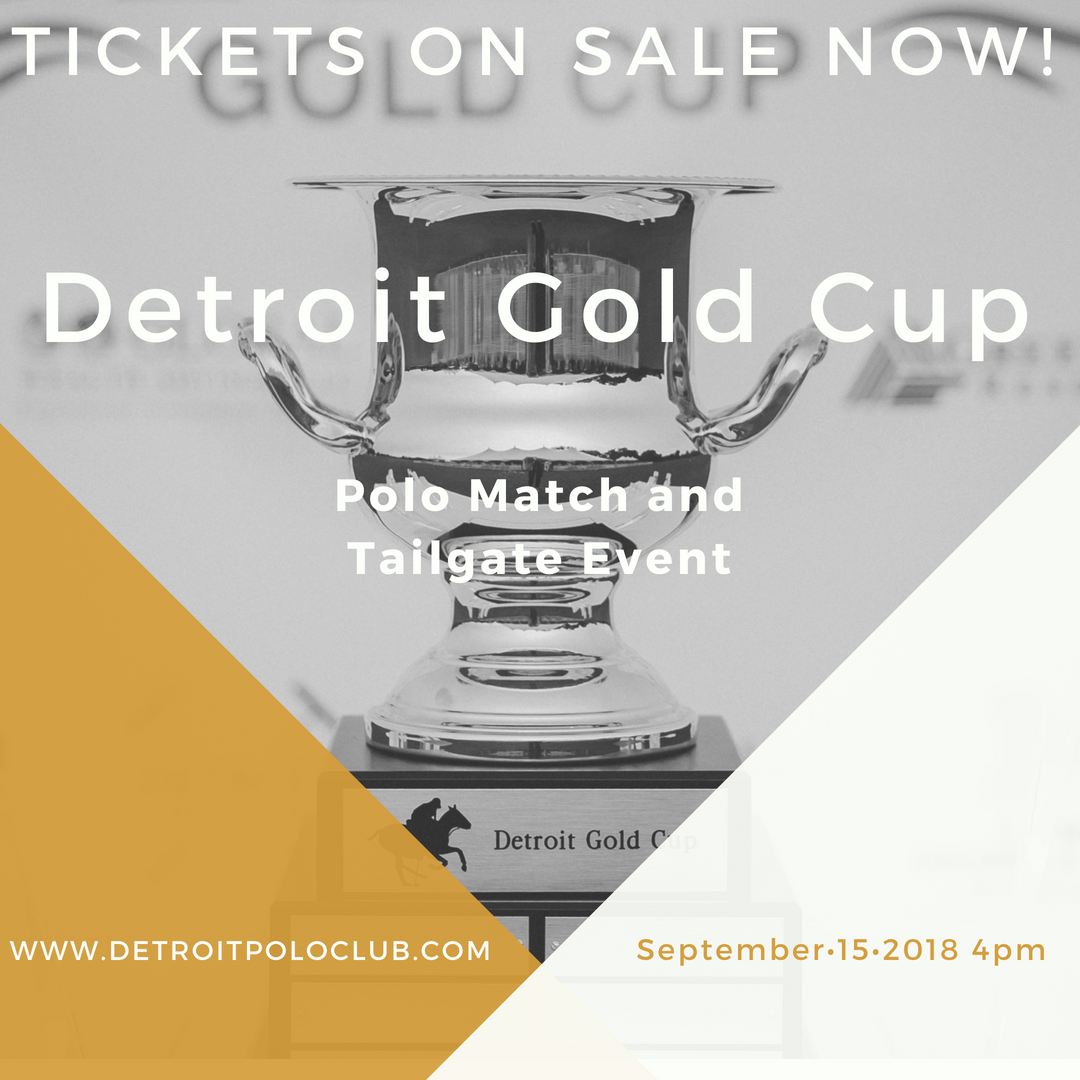 Detroit Gold Cup is back! Grab your crew and join us!