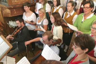 Spatzenmesse von W.A. Mozart zum Patroziniumsfest 2018 in Mauer