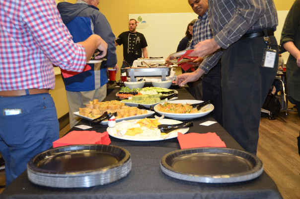 Faculty/Staff Holiday Lunch - December 13th, 2017