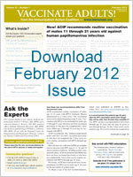 Download February 2012 Issue of Vaccinate Adults