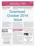 Download the October issue of Needle Tips