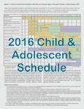 IAC's Laminated Child and Teen Immunization Schedules