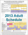 IAC's Laminated Adult Immunization Schedules