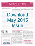 Download May 2015 issue of Needle Tips