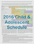 IAC's Laminated Child and Teen Immunization Schedules