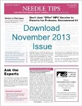 Download the November 2013 issue of Needle Tips