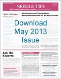 Download May issue of Needle Tips