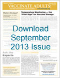 Download the September issue of Vaccinate Adults