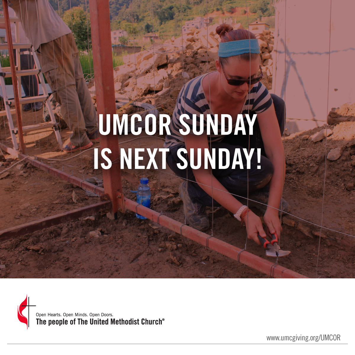 UMCOR Sunday is 2 weeks away
