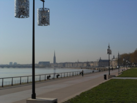 Bordeaux City Riverside Walkway