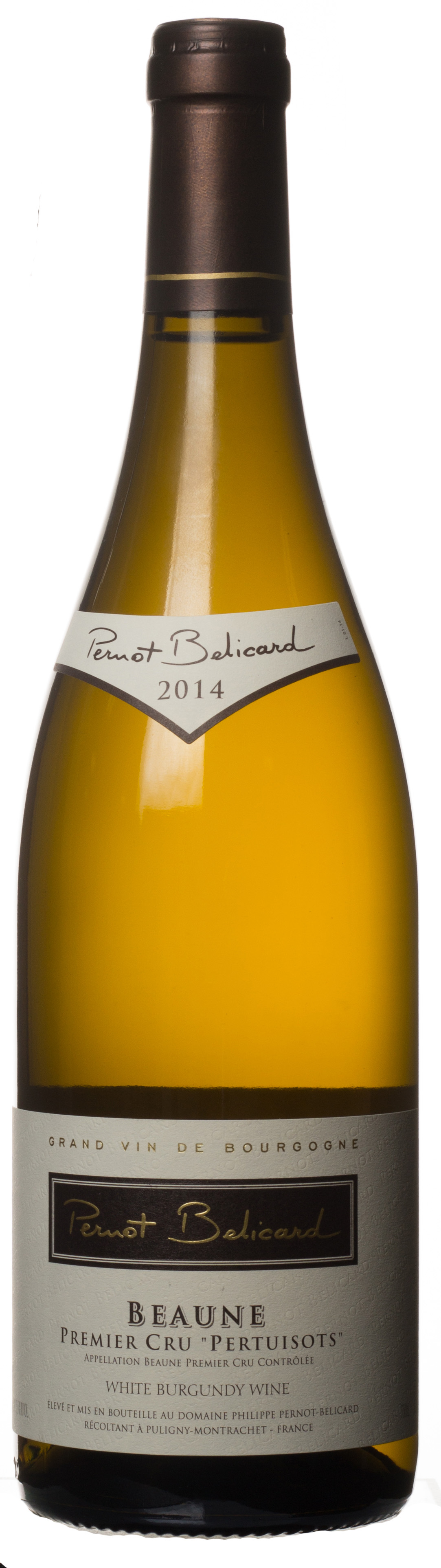 2014 Domaine Pernot Belicard Beaune 1er Cru Pertuisots Bottle