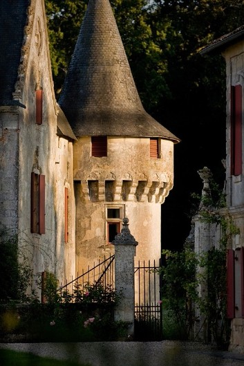 Medieval Chateau Olivier Photo