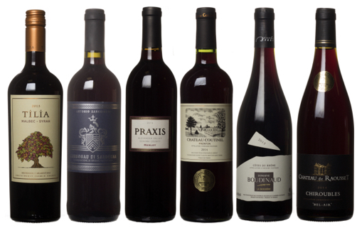 October Dirty Dozen Reds Bottles