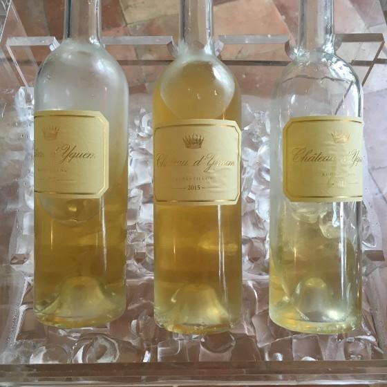 2015 Chateau d'Yquem Bottles