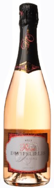 d'Orfeuilles Touraine Rose Bottle