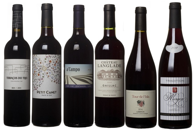 November Dirty Dozen Red Wines