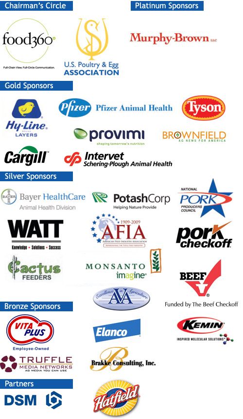 Thanks to our event sponsors: