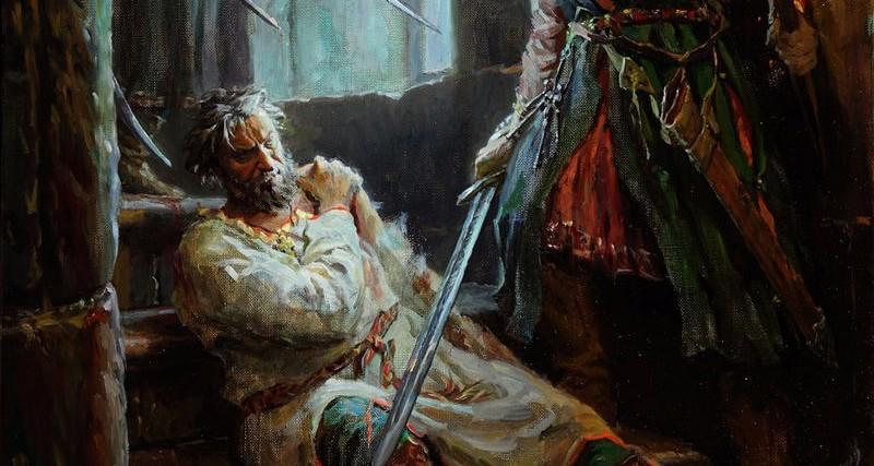 С. А. Кириллов. «Андрей Боголюбский (Убиение)». 2011