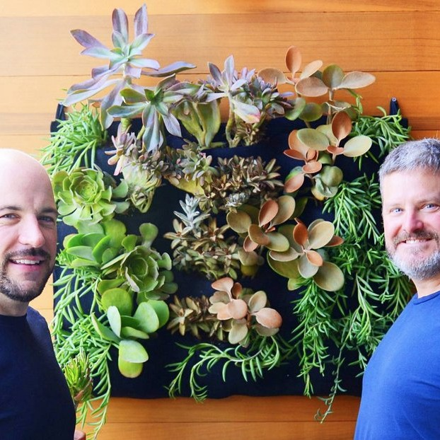 Chris & Gary's Vertical Garden