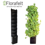 Florafelt 8-Pocket Compact Vertical Garden Kit