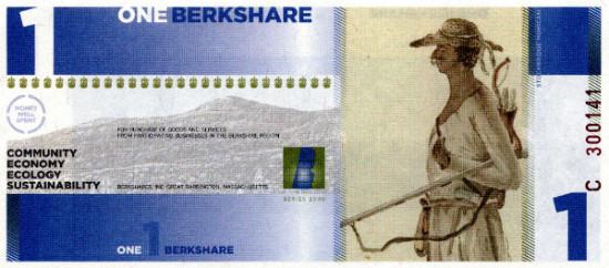 Stockbridge Mohican - on the 1 BerkShare
