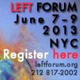 Left Forum registration