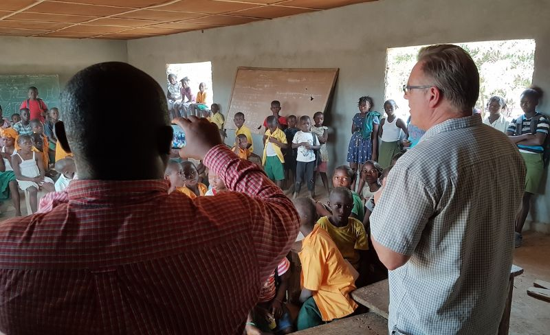 Teaching in Sierra Leone