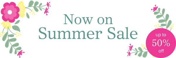 Now on - Summer Sale