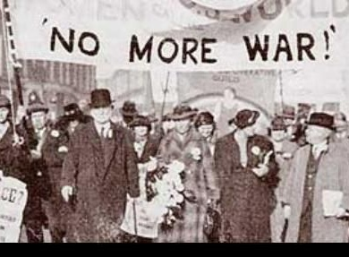 "Armistice Day to celebrate ""no more war"""