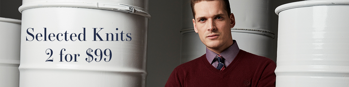 Selected Knits 2 for $99