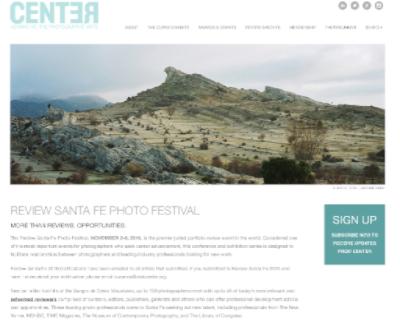 Greg Kahn selected for Review Santa Fe