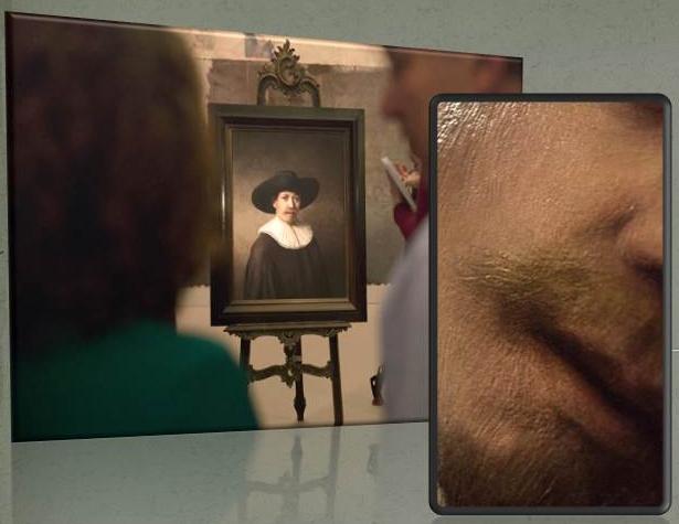 A new Rembrandt. 3D printed