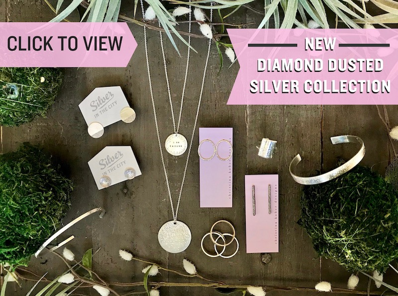 Silver in the City's Diamond Dusted Jewelry Collection