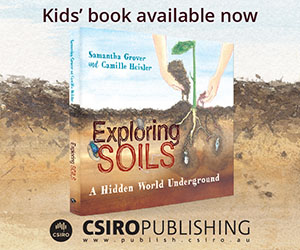 Ad for Exploring Soils book available now from CSIRO Publishing.