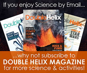 Double Helix magazine promotion.