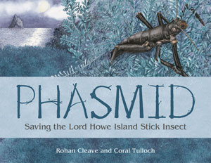 Phasmid book cover.