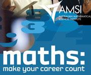 AMSI ad: maths: make your career count