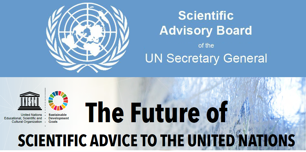 """""""The Future of Scientific Advice to the United Nations"""" Report"""