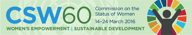 WFEO at the UN CSW60: Commission on the Status of Women
