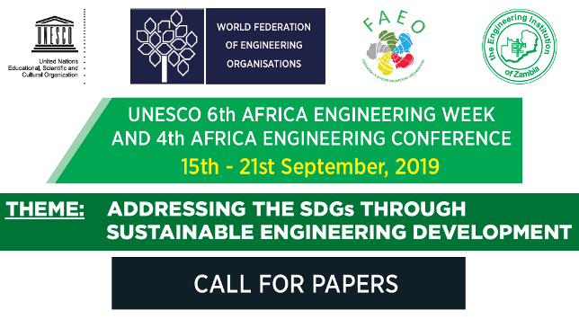 UNESCO 6th Africa Engineering Week & 4th Africa Engineering Conference 2019