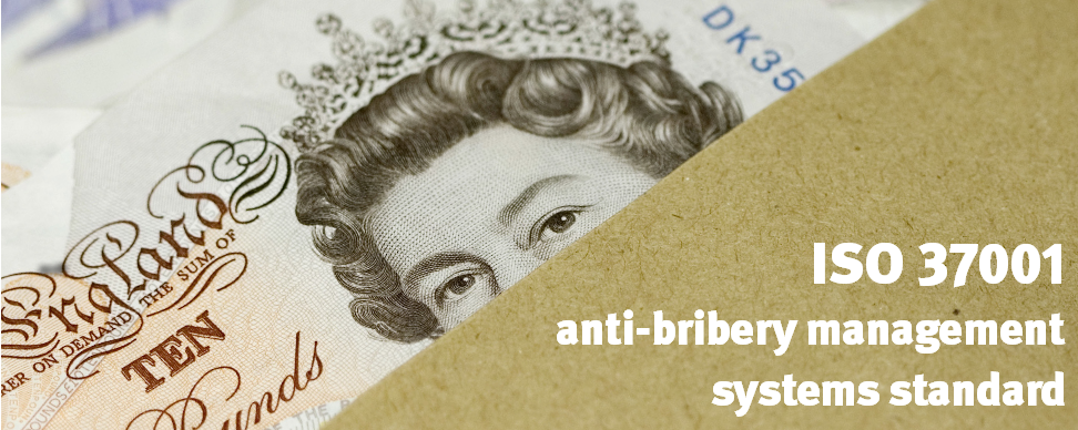 Publication of ISO 37001 Anti-bribery Management Systems Standard on 15th October 2016