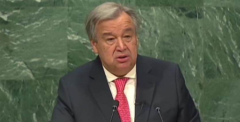 António Guterres, new UN Secretary-General