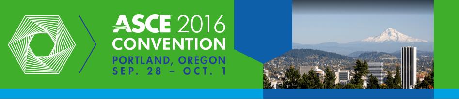 ASCE 2016 Convention