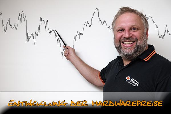 Titelbild: Entwicklung der Hardwarepreise