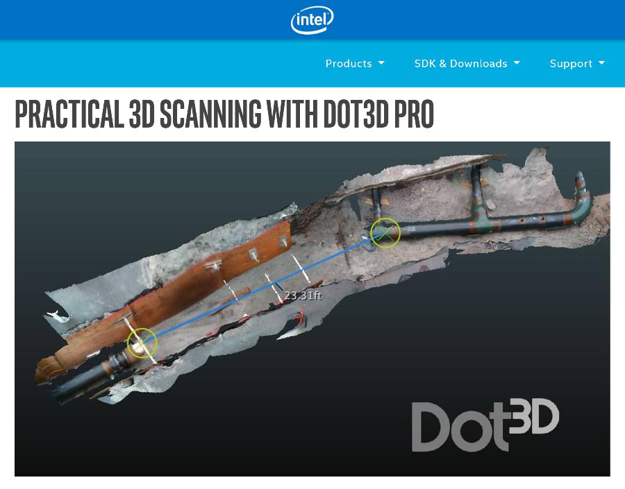 Dot3D Pro RealSense Article