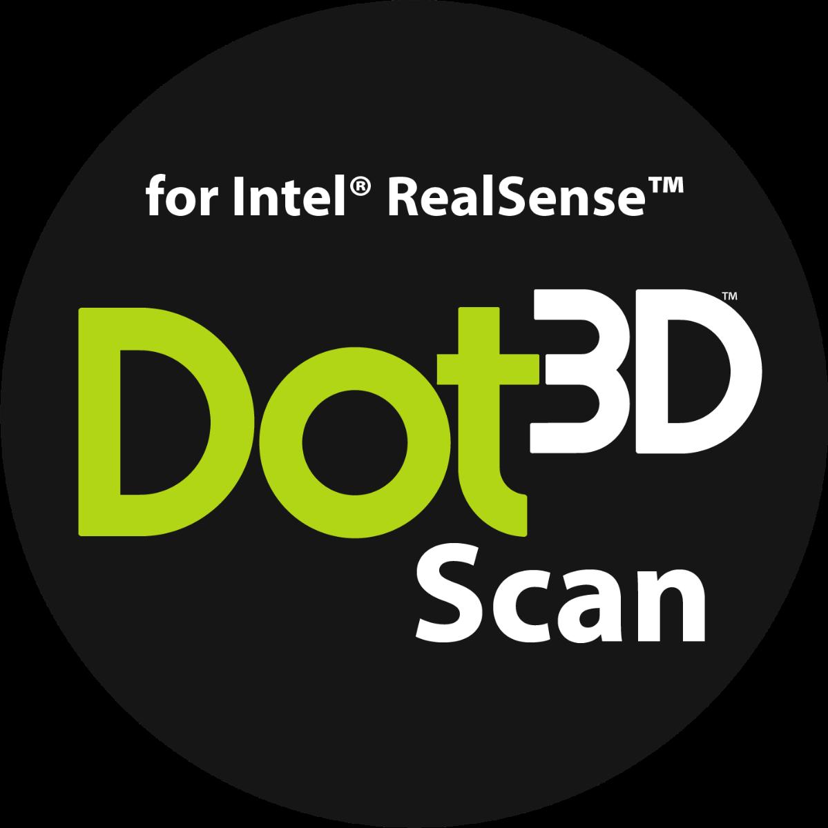 Dot3D Scan for RealSense