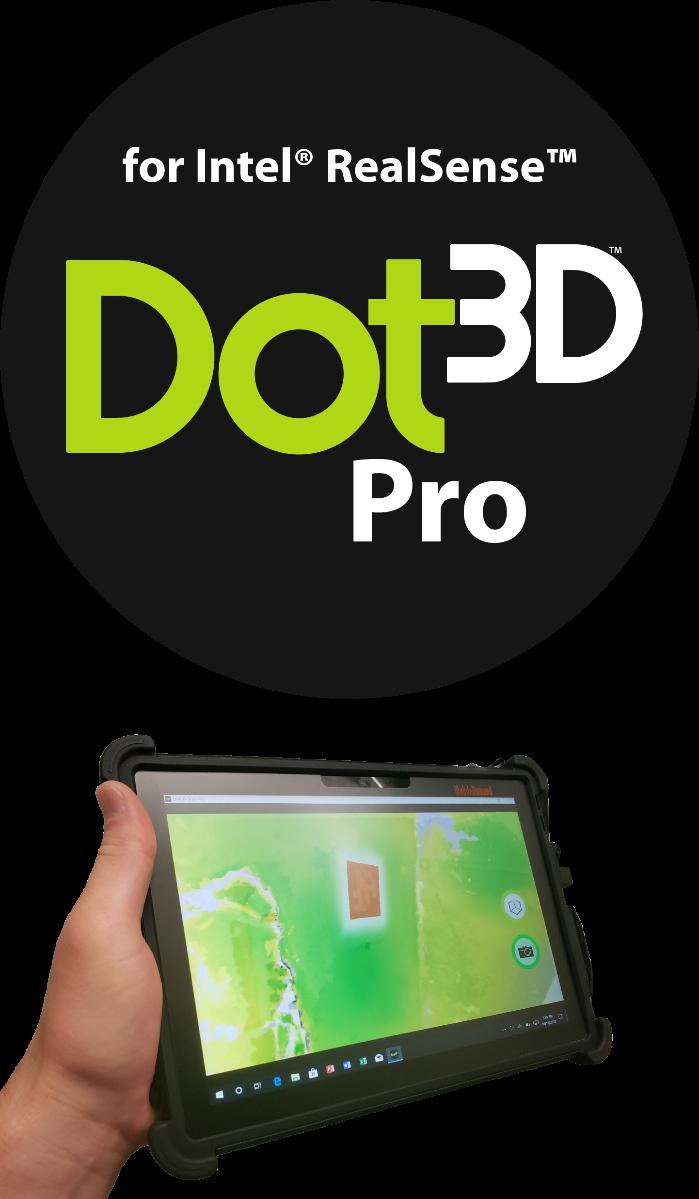 Dot3D Pro for RealSense